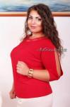 Артикул:Блуза №0079-красный