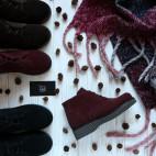 Замшевые ботинки, р. 31-37