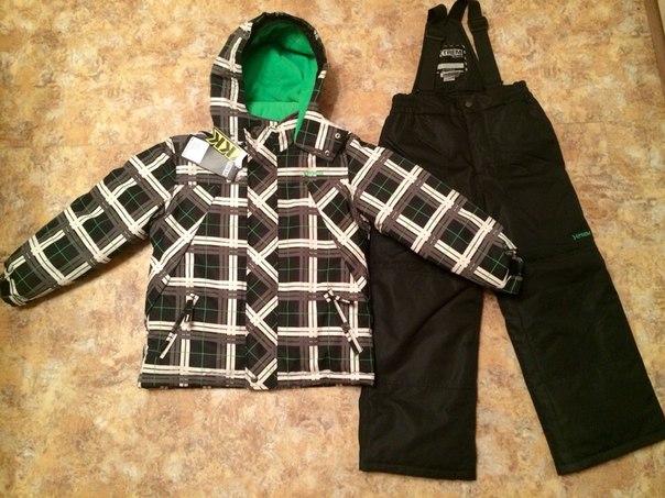 Зимний мембранный комплект для мальчика Gusti Extreme Black
