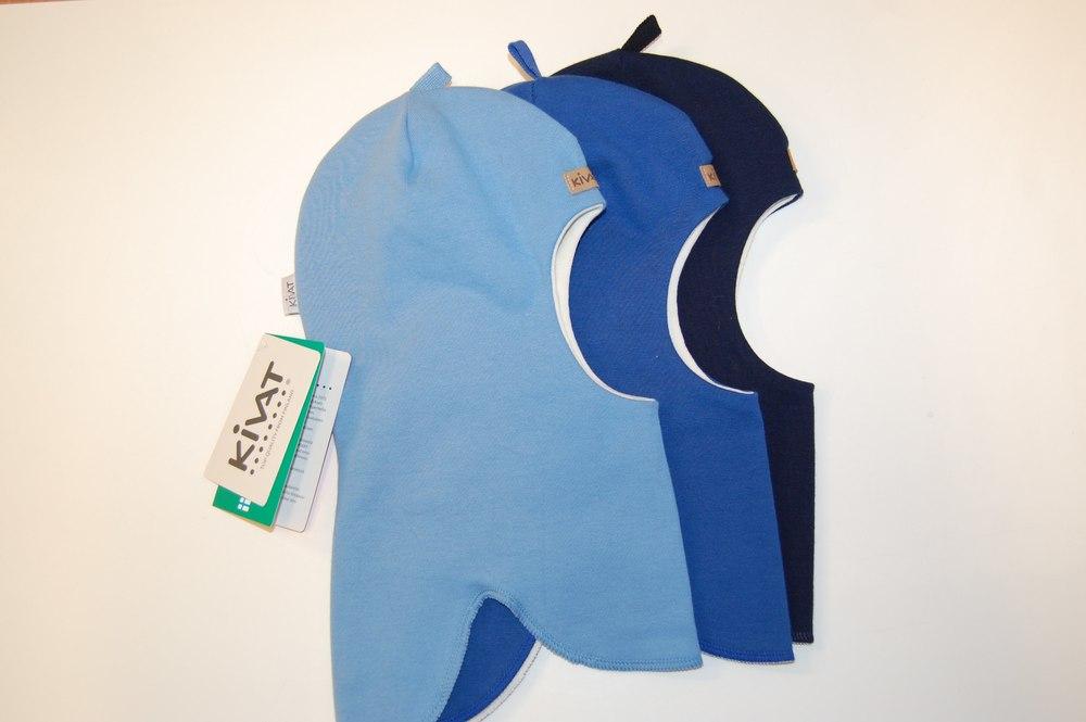 Kivat шлемы весна\осень 442-60 голубой 442-62син, 442-65т.с