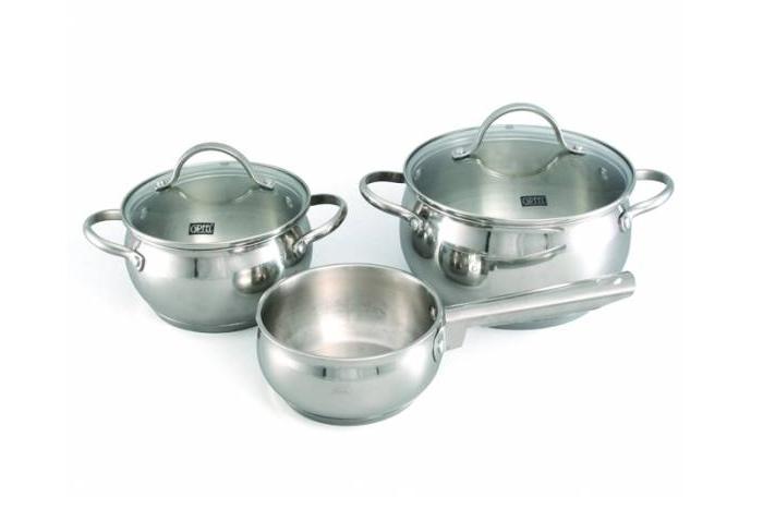 1509 GIPFEL Набор посуды TERZA 5 пр. (нерж. сталь)
