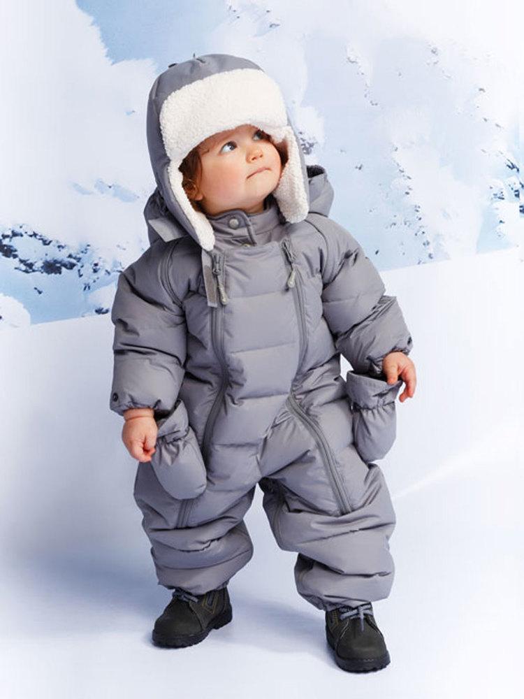 Комбинезон-трансформер  Крокид пуховый зимний