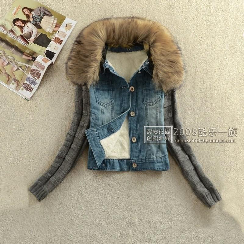 Утепленная джинсовка