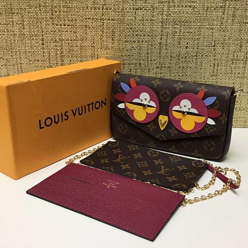 Сумка-клатч Louis Vuitton Damier Azur Favorite MM