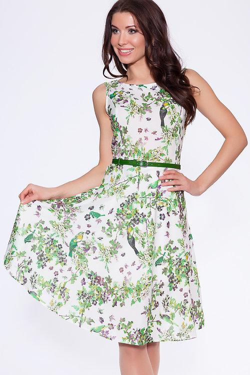 Платье Зеленый