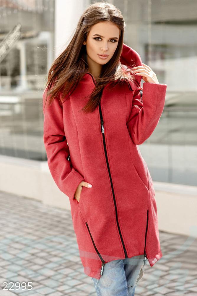 Трендовое демисезонное пальто Gepur