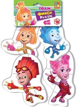 Мягкие пазлы «Baby puzzle.Фиксики» Мася