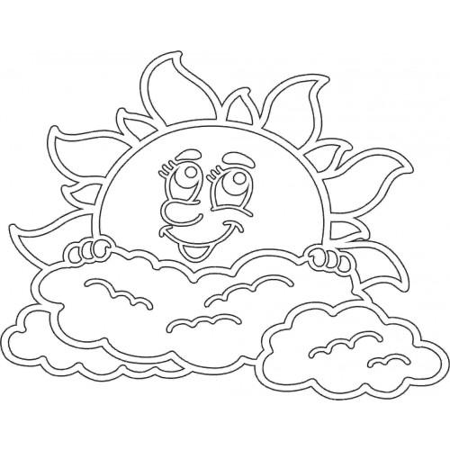 Вытынанки солнышко шаблоны на окна