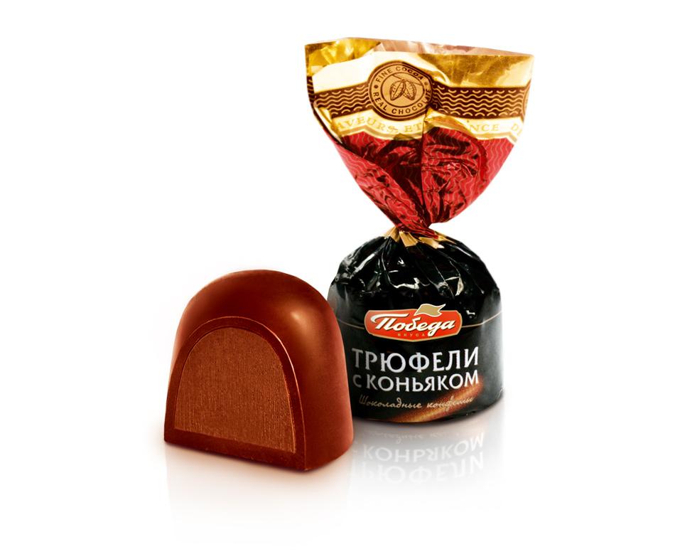 Трюфели шоколадные с коньяком BiG BoX