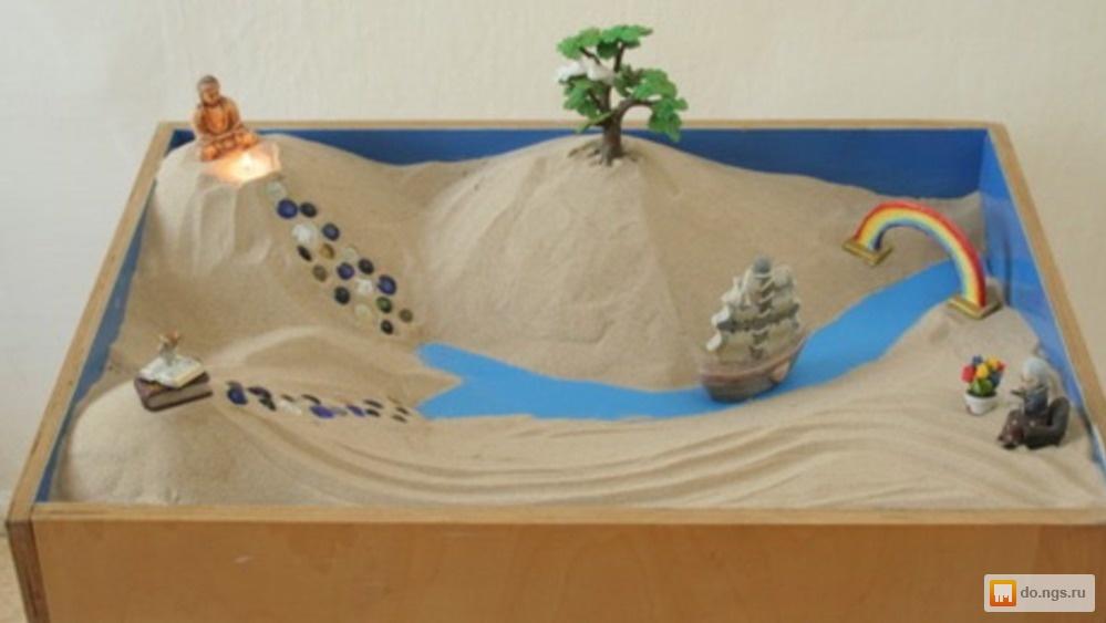 Полный набор №1  Космический песок 6 кг+деревянная песочница