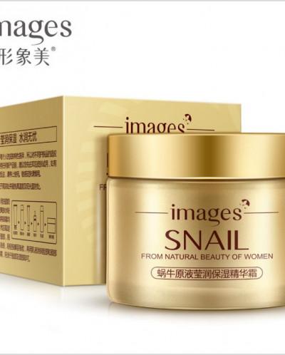 Images Snail Cream у влажняющий крем для лица с экстрактом у