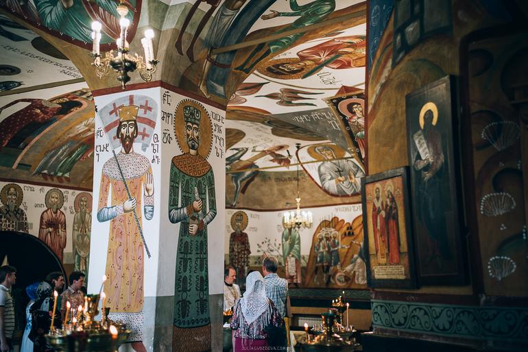 Храм великомученика георгия победоносца в грузинах фото