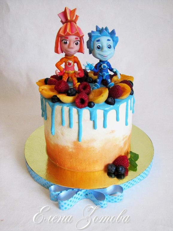 Детские торты своими руками рецепты без мастики фото 457
