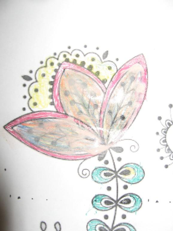 """Тематическое занятие """"Волшебный цветок"""""""