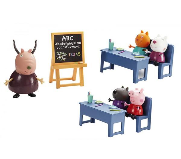 мультик свинка пеппа родителей в школу