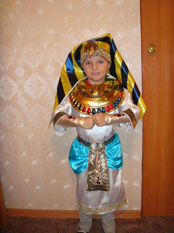 Костюм фараон своими руками