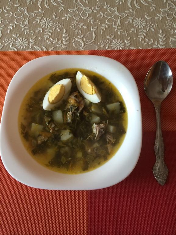 Щавелевый суп кислинка