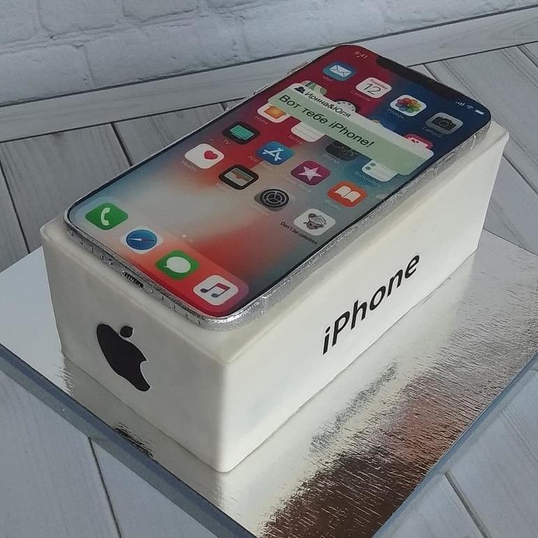 Картинки торт айфон