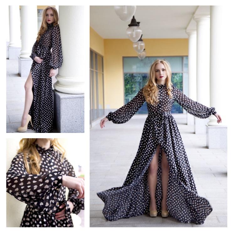 Верх как у рубашки платье