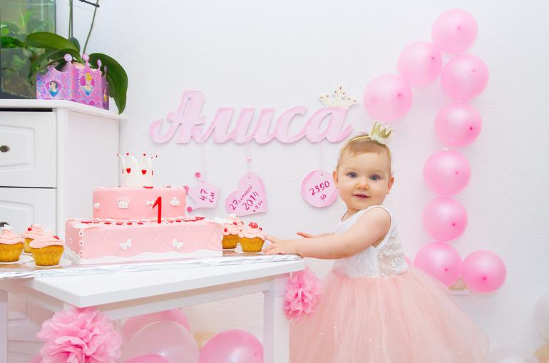 Фото день рождения 1 годик девочке