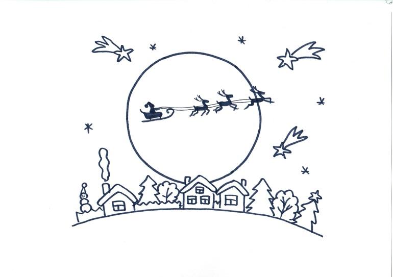 Новогодние раскраски скачать - новогодняя елка раскраска ...
