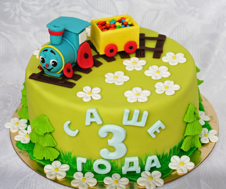 Торт паровозик картинки