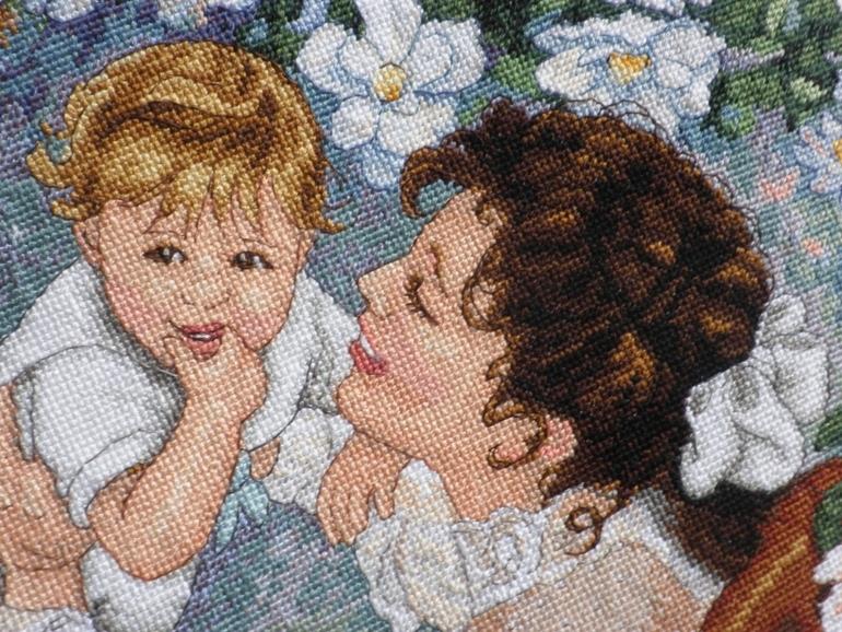 Вышивка мамина радость схема фото 721