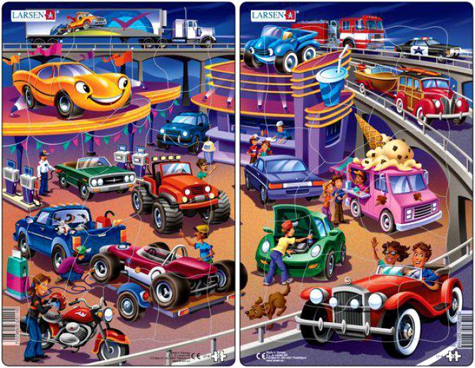 Автотреки для детей  игрушки треки для машинок покупайте