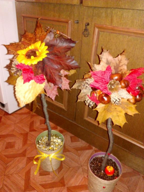поделки в школу фото осень