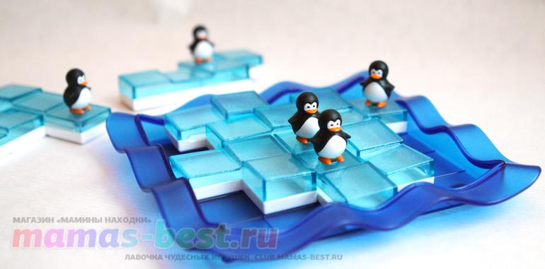 """<b>Логическая игра</b> """"<b>Пингвины</b> на льдинах"""" от SmartGames (<b>Bondibon</b>)."""