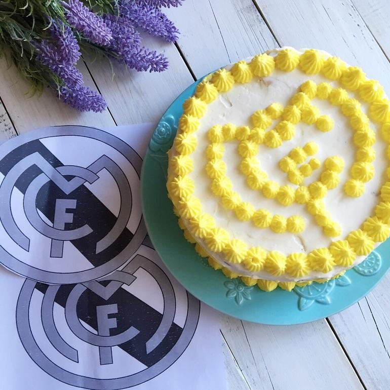 Торт с фруктами бисквит фото 4